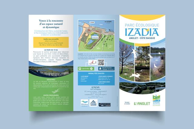 Brochure Izadia recto