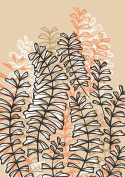 Illustration motifs d'automne