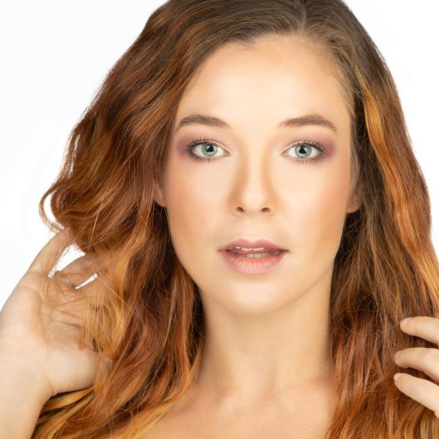 Modeling Glamour Headshot