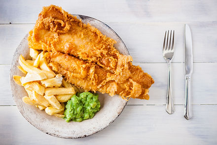 Traditional English food - Fish and chip