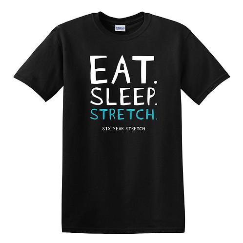 SYS Eat, Sleep, Stretch T Shirt