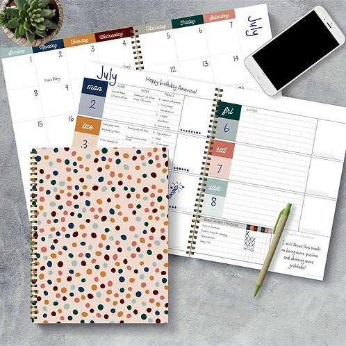 Large Weekly/Monthly Planner (Undated)