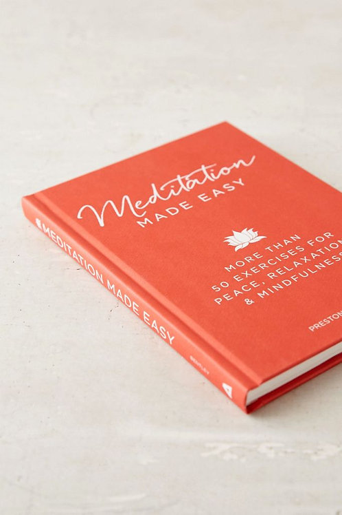 Meditation Made Easy (Hard Cover)