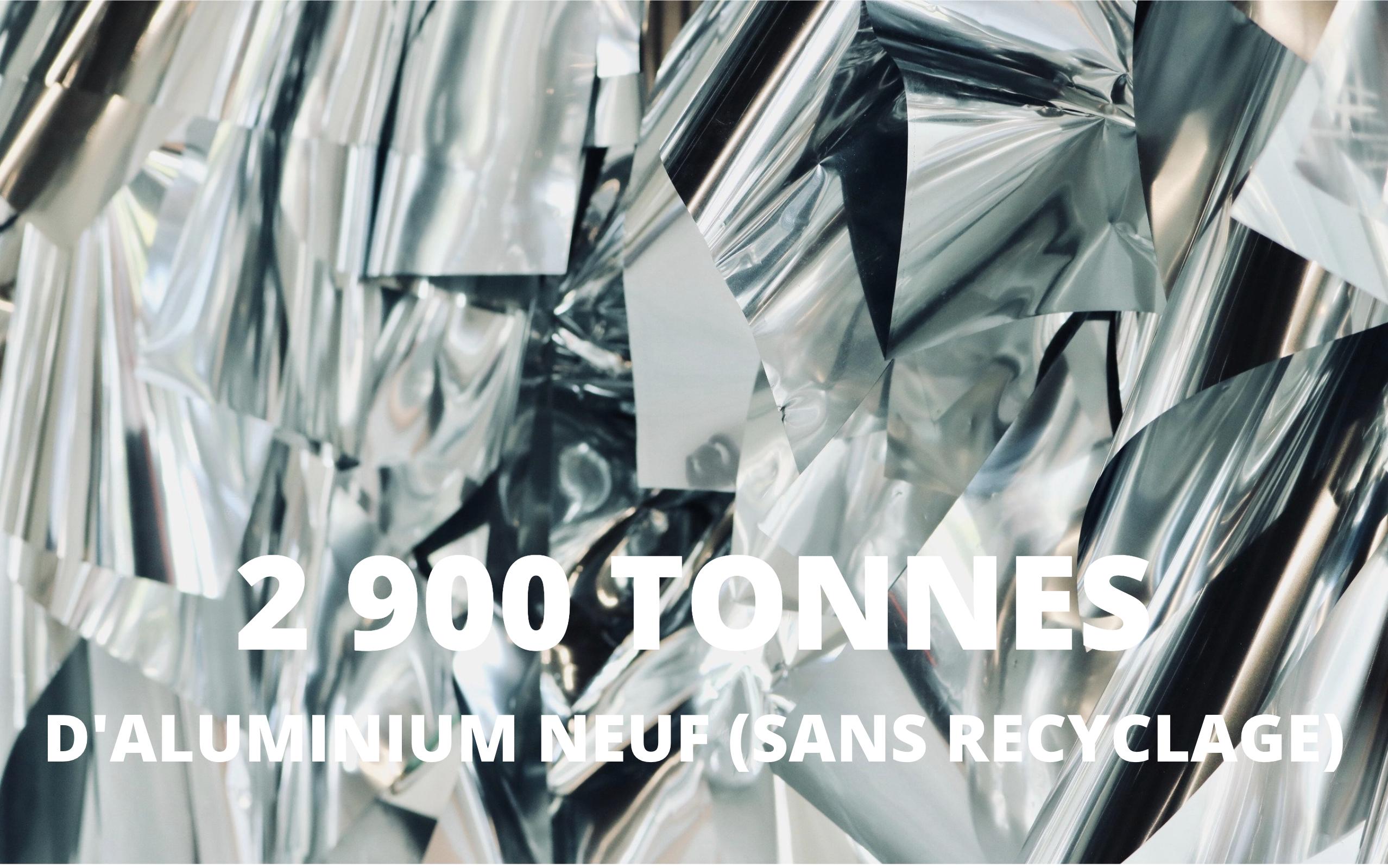 2900 T d'aluminium