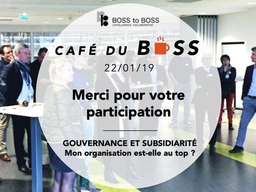 Café du BOSS du 22/01/19 - Quelques souvenirs en infographie