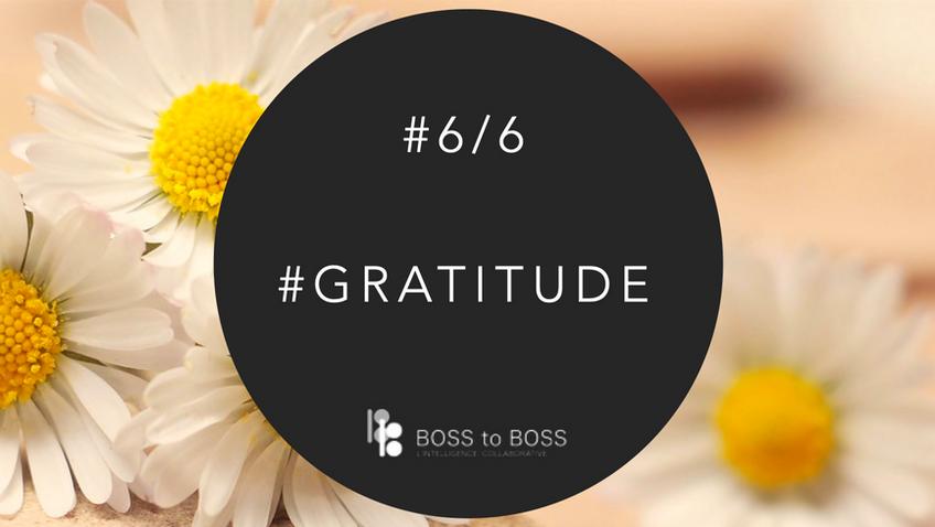#Gratitude - REX Learning #6/6