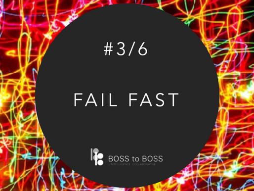 """Savoir échouer, ou comme diraient les américains, """"FAIL FAST"""" - REX Learning #3/6"""