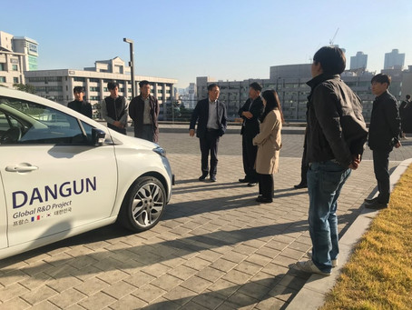 Field Investigation on the Korea-France International Cooperation Technological Project DANGUN