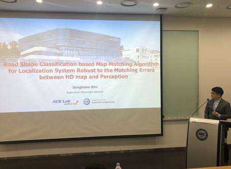 Kim Sangkwon and others' Masters Dissertation Presentation
