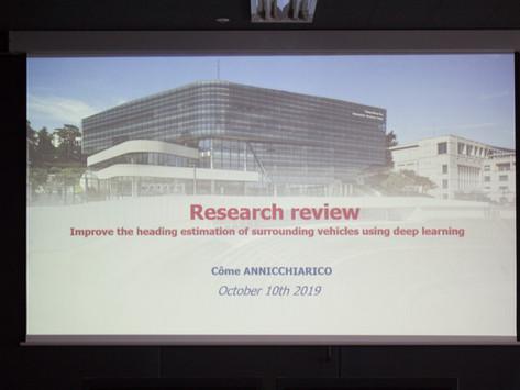 2019 ACE Lab International Intern's Mid-term Presentation
