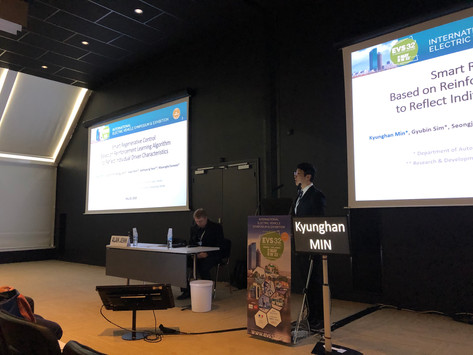 ACE Lab participated in Electric Vehicle Symposium 32