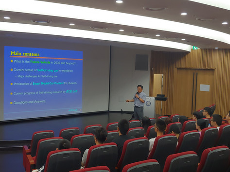Professor Sunwoo Myoungho Gives Special Lecture to China University of Geosciences Students