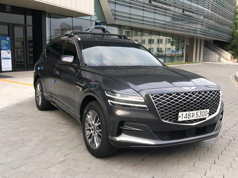 Autonomous vehicle A1 6thGeneration (GV80) Completed