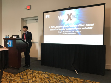 ACE Lab at 2019 SAE World Congress Experience