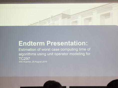2019 ACE Lab International Intern Willi Heumer's Final Presentation