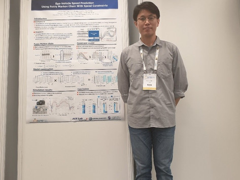 ACE Lab Participated the 30th IEEE Intelligent Vehicles Symposium
