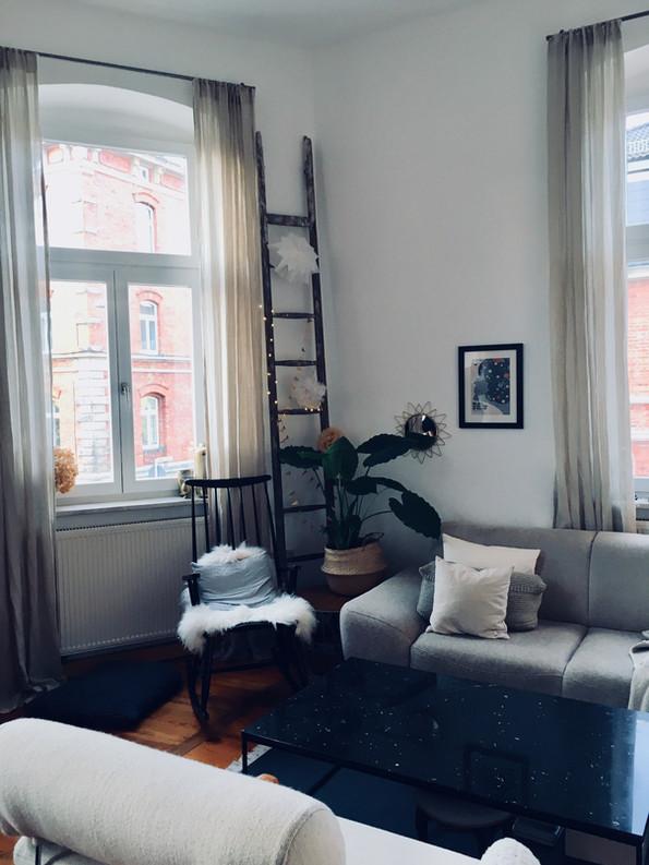 Wohnzimmer-Ecke