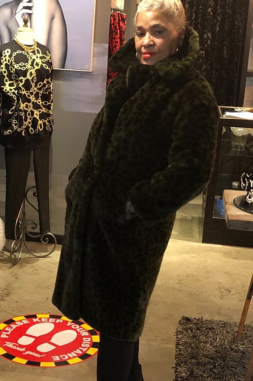 Animal Print Faux Fur