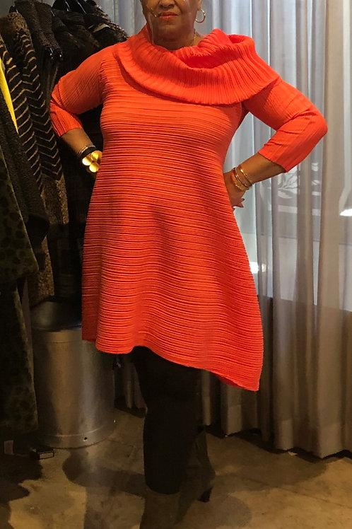 Embrace The Season Orange Tunic Dress