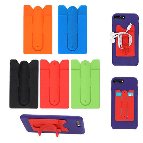 Porta Tarjetero Colores Silicon