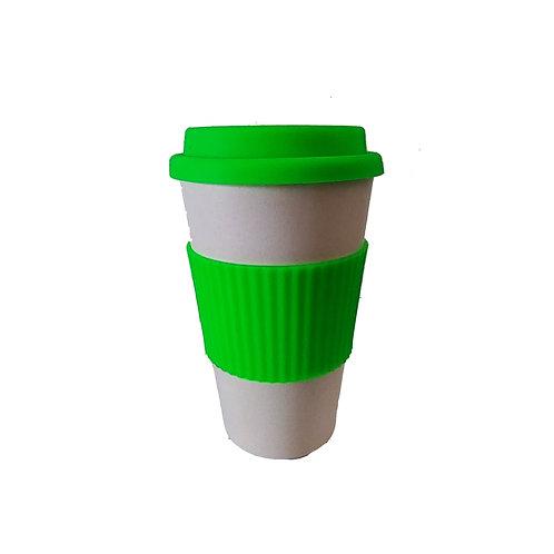 Vaso Cafetero de Bamboo 400 ml
