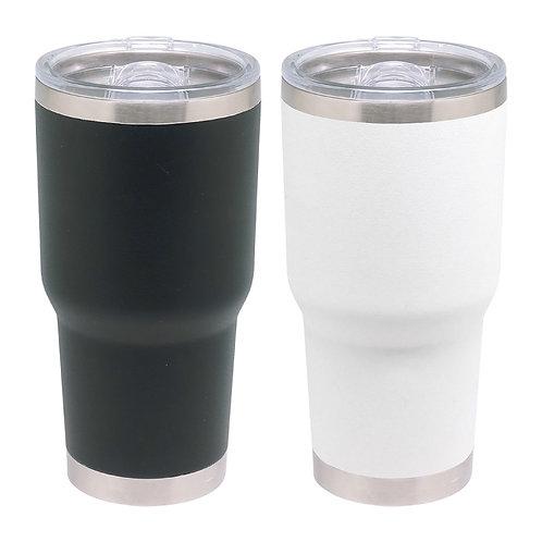 Termo BN 850 ml con filo Plata Doble pared Acero Inox