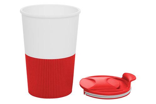 Mug Cafetero Rojo Azul o Negro 350 ml