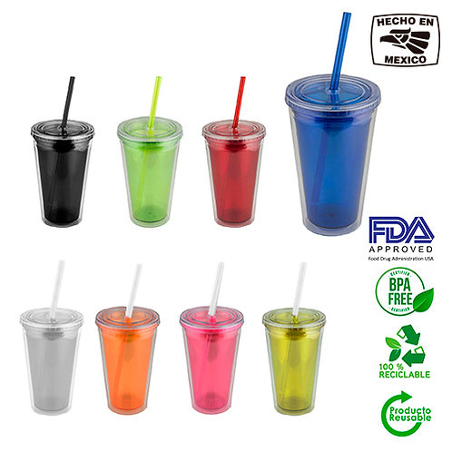 Vaso doble pared 500 ml