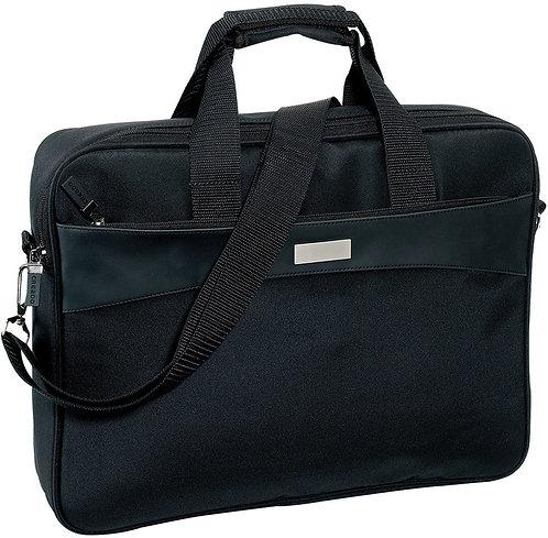 Maletín PortaLaptop Negro 40 x 30 x 8 cm