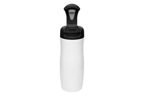 Mug Fácil 380 ml Doble Pared Acero Color Negro
