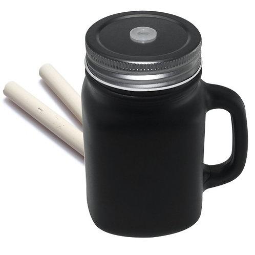 Tarro Pizarra con asa 400 ml
