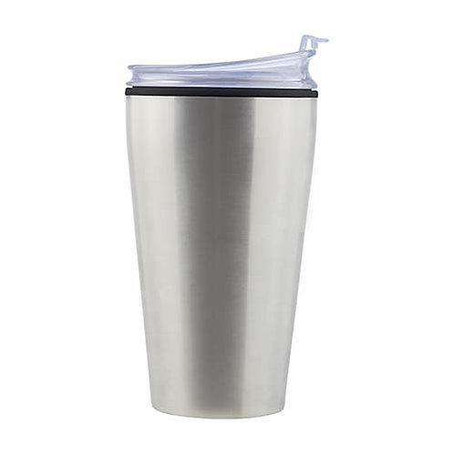 Vaso de Acero con Tapa de 475 ml
