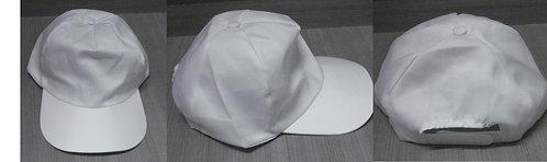 Gorra Blanca Promocional 4 Gajos