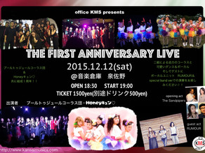 THE FIRST ANNIVERSARY LIVE!!!