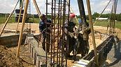 Вибрирование бетонной смеси