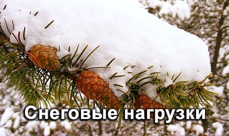 Снеговые нагрузки