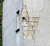 Разрушение стены Брестской детской поликлиники