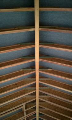 Наконец всё смонтировано и крыша накрыта мембраной!