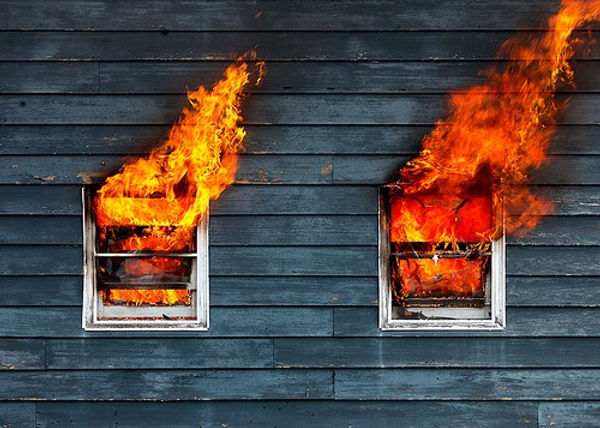 Огнезащита древесины