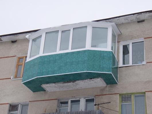 Балкон - чудо инженерной мысли!