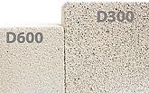Плотность марок газобетонных блоков