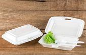 Полистирольный контейнер для пищи