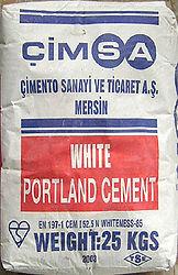 Европейская маркировка цемента