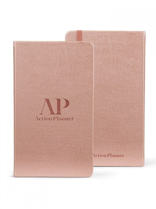 90x Action Planner in Rose Gold