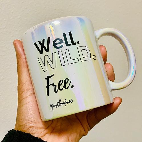 WWF Iridescent Ceramic Mug