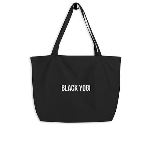 Black Yogi Tote Bag