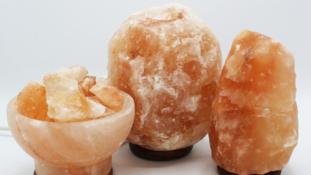 Let Your Salt Glow: Pink Himalayan Salt Lamps
