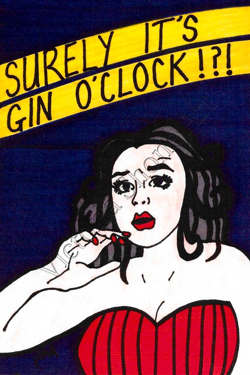 Surely It's Gin O'Clock!!!