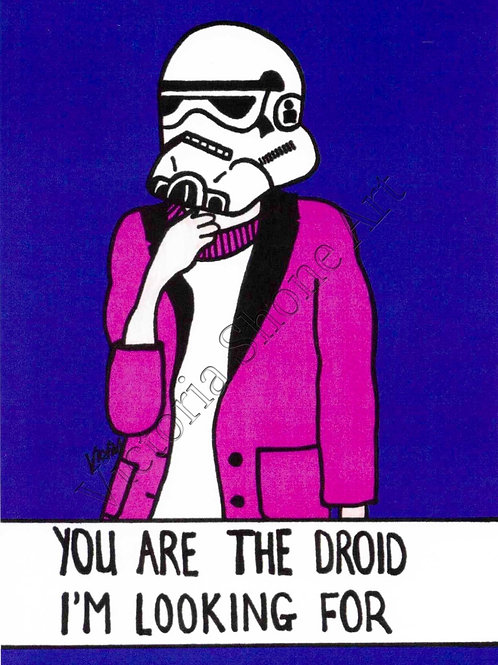 You Are The Droid