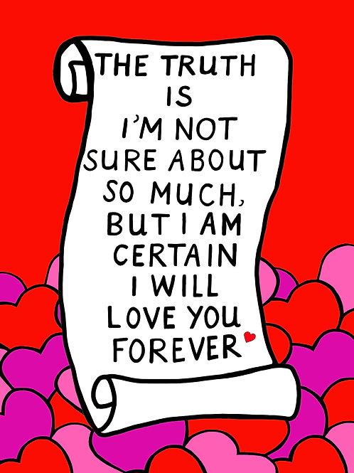 I am certain